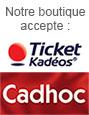 Notre boutique accepte les tickets Kadeos et Cadhoc